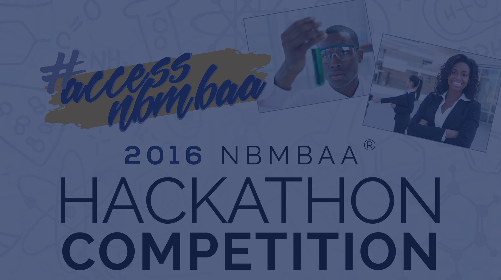 2016 NBMBAA Undergrad Hackathon